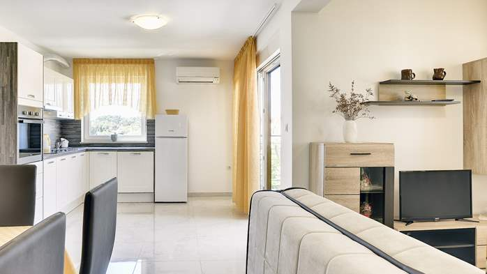 Beautiful apartment in Medulin with balcony and 2 bedrooms, 2
