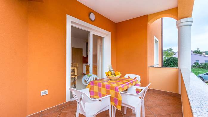 Comfortable accommodation for 12 people, house with pool, Ližnjan, 34