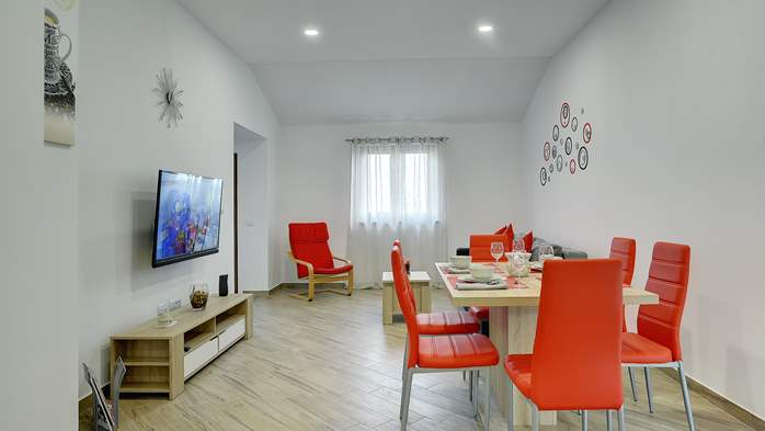 Newly built house in Ližnjan with a private pool and free WiFi, 9
