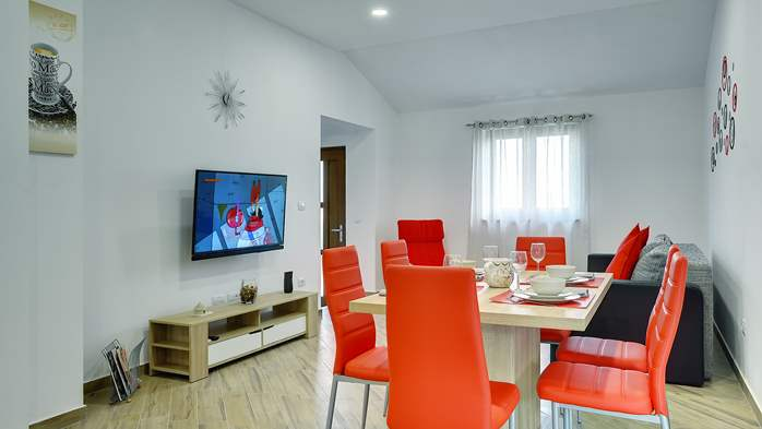 Newly built house in Ližnjan with a private pool and free WiFi, 10