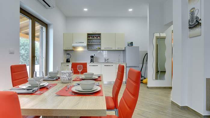 Newly built house in Ližnjan with a private pool and free WiFi, 13