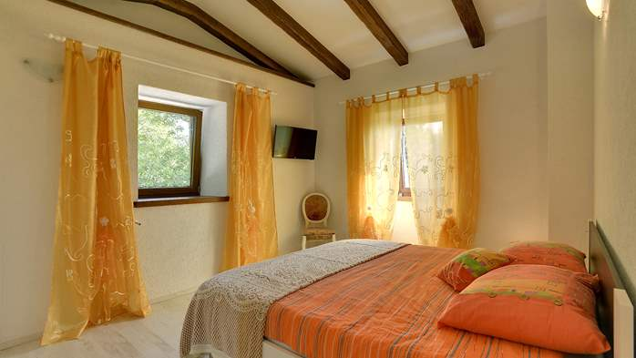 Villa for 10 persons in a quiet setting, pool with whirpool, WiFi, 25
