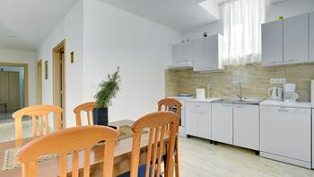 Spacious apartment for 4 persons with 2 bathrooms, 4