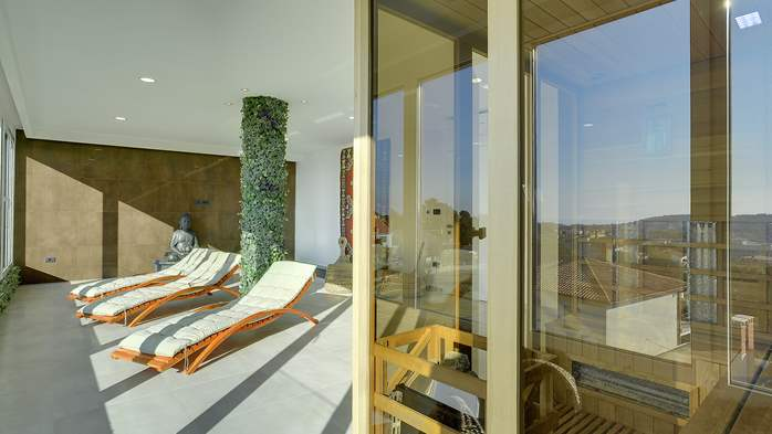 Marvelous villa in Banjole with pool, sauna, gym and free WiFi, 49