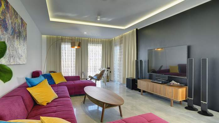 Marvelous villa in Banjole with pool, sauna, gym and free WiFi, 23