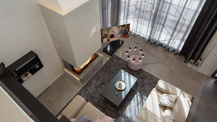 Stylish villa with heated pool near Pula, with wine cellar, 32