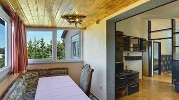 Air-conditioned apartment for 4 persons with two bedrooms, WiFi, 10