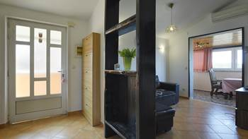 Air-conditioned apartment for 4 persons with two bedrooms, WiFi, 6