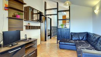 Air-conditioned apartment for 4 persons with two bedrooms, WiFi, 1