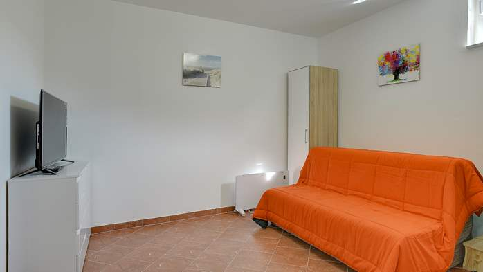 Nicely decorated studio apartment in Pula for 2 persons, 6