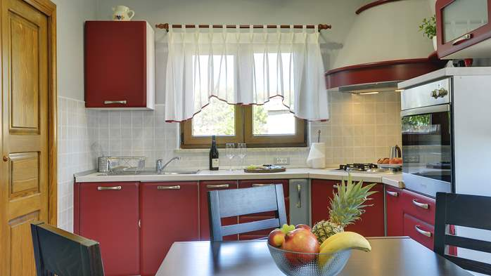 Charming villa with outdoor pool, nice garden and tavern, 13