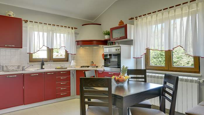 Charming villa with outdoor pool, nice garden and tavern, 14