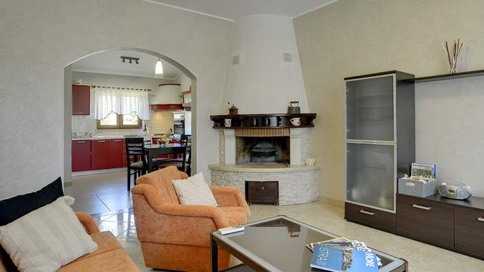 Charming villa with outdoor pool, nice garden and tavern, 19