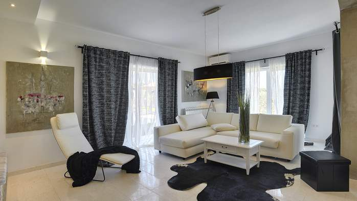 Heavenly villa close to Rovinj, with heated pool, sauna, jacuzzi, 17