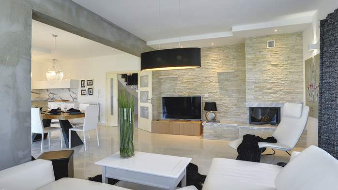 Heavenly villa close to Rovinj, with heated pool, sauna, jacuzzi, 21