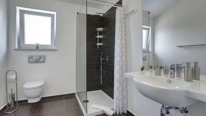 Attractive villa with 6 bedrooms, swimmingpool and Finnish sauna, 40