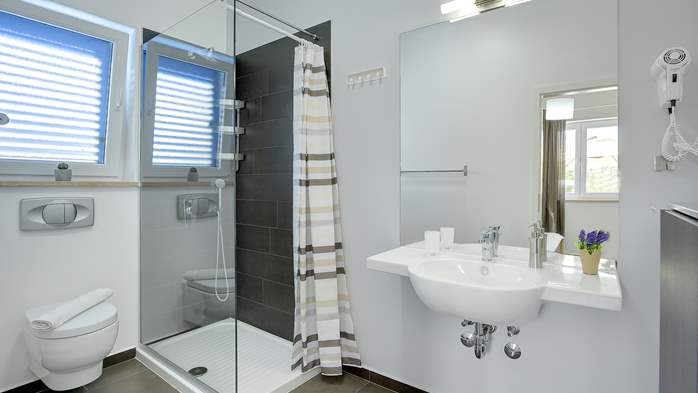 Attractive villa with 6 bedrooms, swimmingpool and Finnish sauna, 41