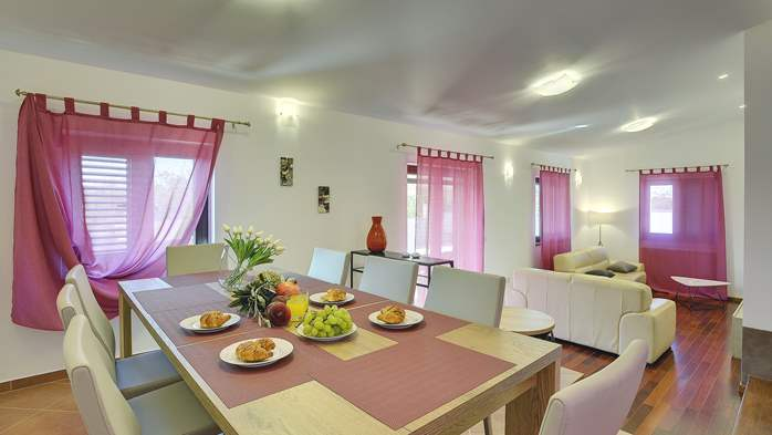 Spacious villa in Pula with pool and jacuzzi for 14 persons, 14