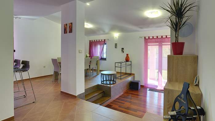 Spacious villa in Pula with pool and jacuzzi for 14 persons, 19