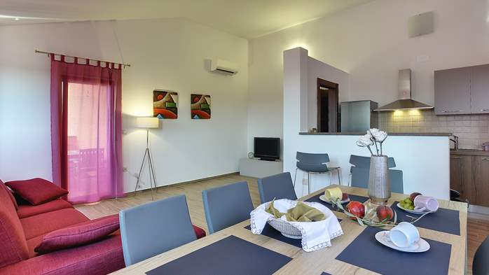 Spacious villa in Pula with pool and jacuzzi for 14 persons, 32