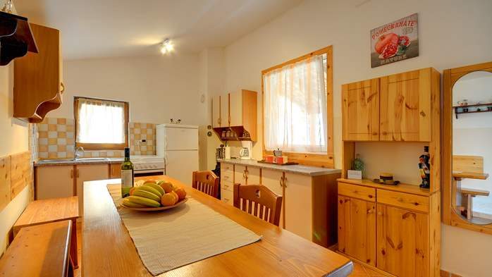 Holiday house for 4 persons in Pula with bbq, air co, WiFi, 9