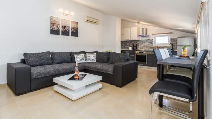 Nicely decorated two-bedroom apartment with private balcony, 1