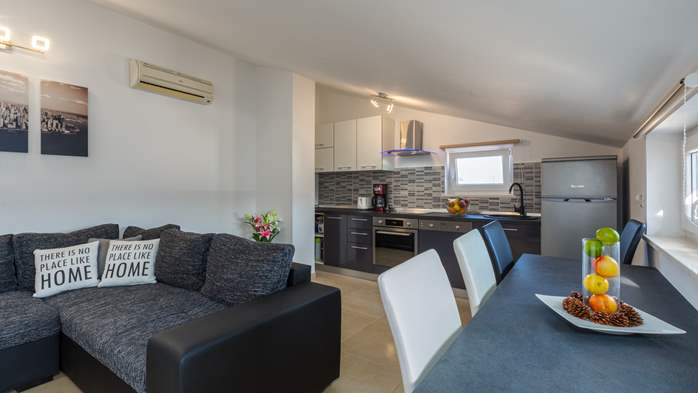 Nicely decorated two-bedroom apartment with private balcony, 7