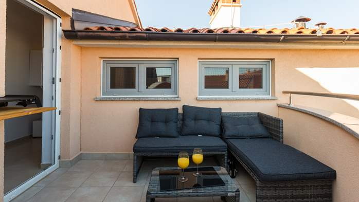 Nicely decorated two-bedroom apartment with private balcony, 25