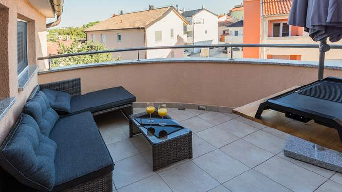Nicely decorated two-bedroom apartment with private balcony, 27