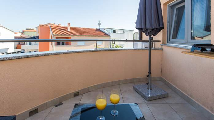 Nicely decorated two-bedroom apartment with private balcony, 24