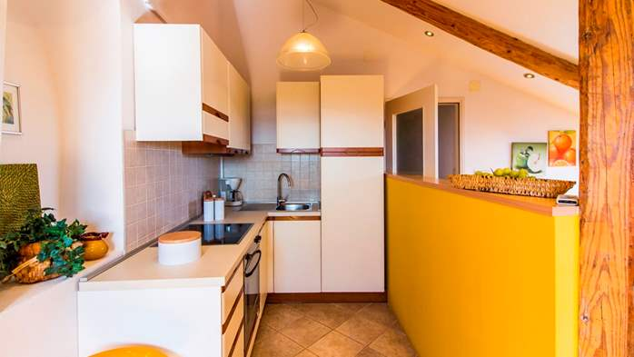 Apartment with beautiful sea view, for 5 persons, 9