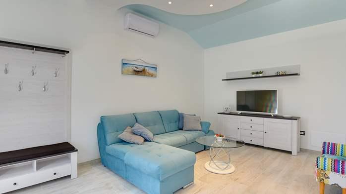 Villa in Galižana for 6 people, swimming pool, sun terrace, WiFi, 22