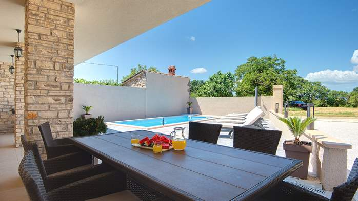 Modern villa with three bedrooms and a private outdoor pool, 27
