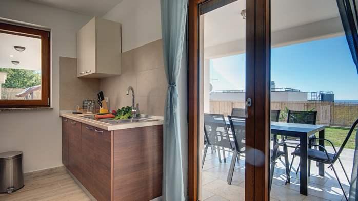 Beautiful villa with stunning sea views, pool, terrace, billiards, 22