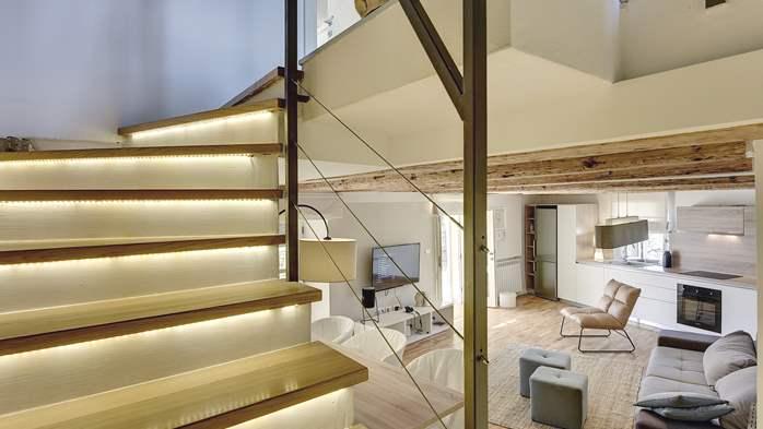Stone villa on three floors with private pool, 15