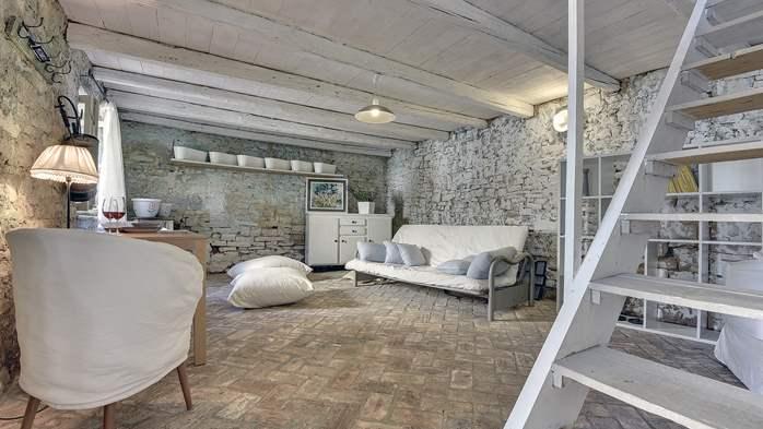 Stone villa on three floors with private pool, 26