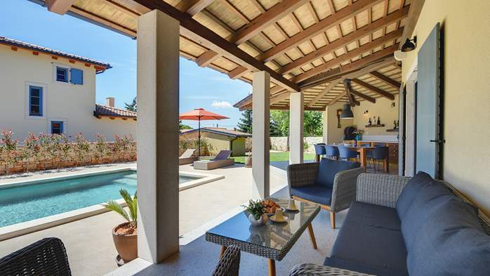 Modern villa for eight persons, with private pool, 33