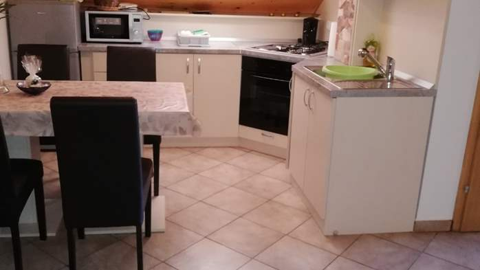 Apartment with two bedrooms and barbecue for 4 people., 2