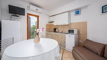 Apartment for 4 persons, on the ground floor, sea view terrace, 4