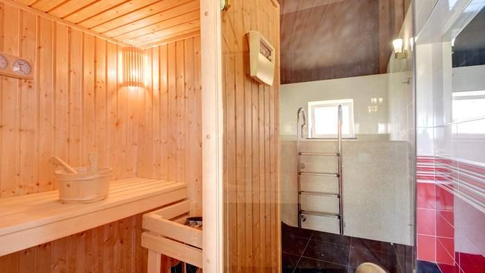 Stone villa near Rovinj, 2 swimming pools, 2 jacuzzis, 3 saunas, 53