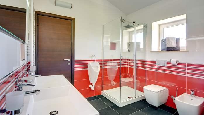 Stone villa near Rovinj, 2 swimming pools, 2 jacuzzis, 3 saunas, 51