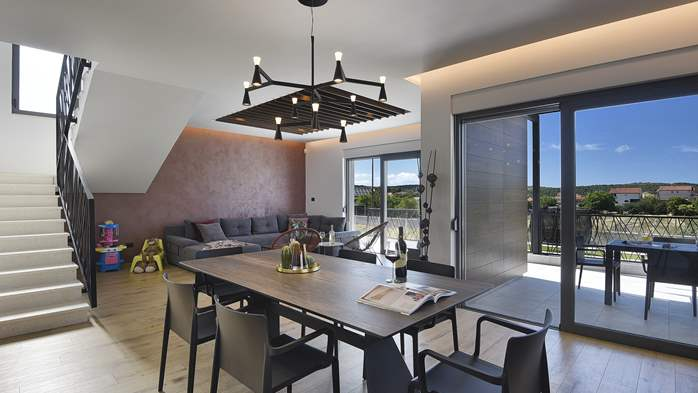 Modern villa in Pomer with private pool, for seven people, 19