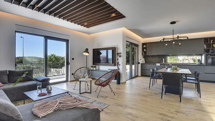 Modern villa in Pomer with private pool, for seven people, 12