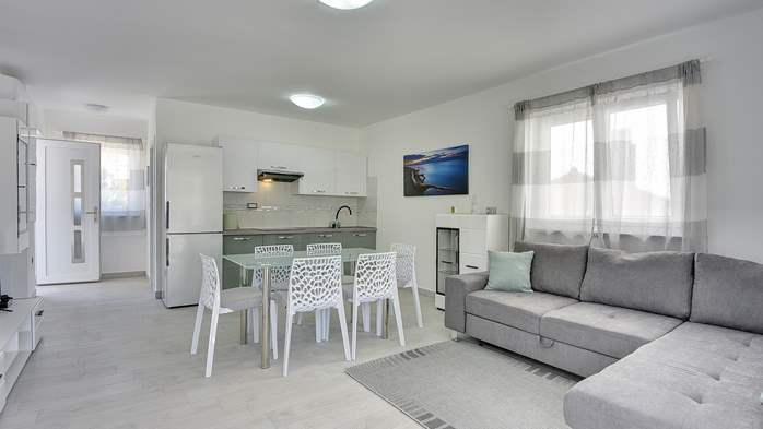 Beautiful villa with pool in Liznjan, with two bedrooms, 9