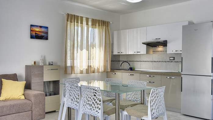 Modern house in Liznjan, with two bedrooms and a sun terrace, 12