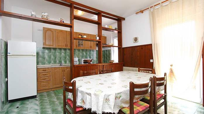 Apartment for 8-9 persons with pleasant ambience, private balcony, 4