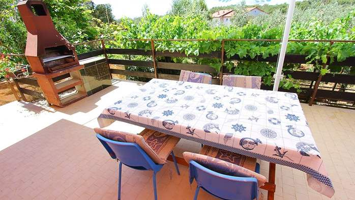 Apartment for 8-9 persons with pleasant ambience, private balcony, 20