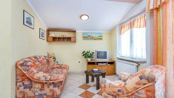 Nice and simple apartment with balcony for three,air conditioning, 1