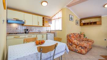 Nice and simple apartment with balcony for three,air conditioning, 11