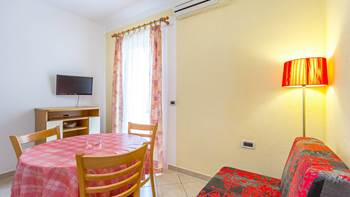 Ground floor apartment with private terrace for 3 persons, WiFi, 9